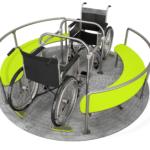 Handicapvenlig karrusel