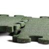 3D gummiflise grøn