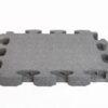 3D gummiflise grå